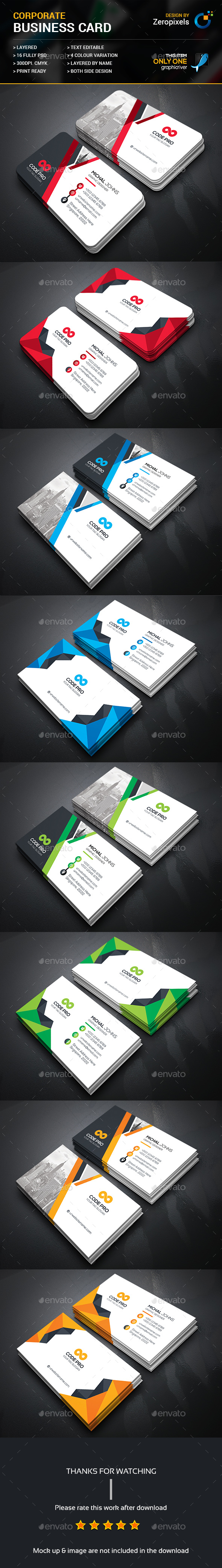 Corporate business card template psd bundle business card corporate business card template psd bundle reheart Image collections