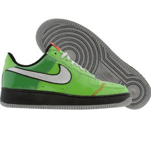 factory authentic 3aecf 69df0 Nike Air Force 1 Low Premium Frankenstein Edition (green bean   metallic  silver   grass   black) Shoes 313641-301   PickYourShoes.com