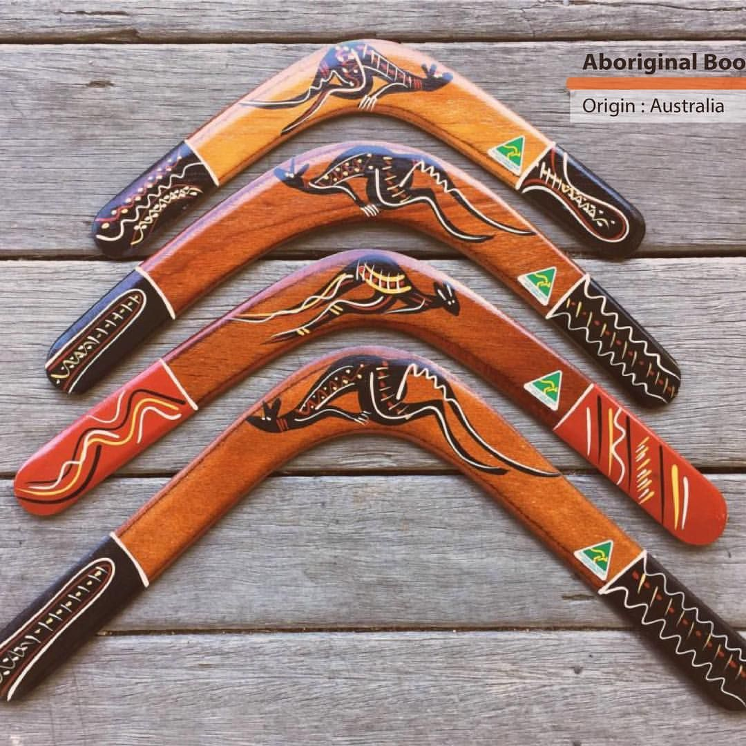 The Returning Boomerang With Two Straight Arms Joining In A Sharp Angled Curve Has A Special Shape That Gives Boomerangs Their Remarkable