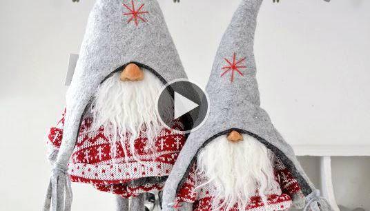 Ecco Come Realizzare Dei Magici Folletti Di Babbo Natale Da Regalare