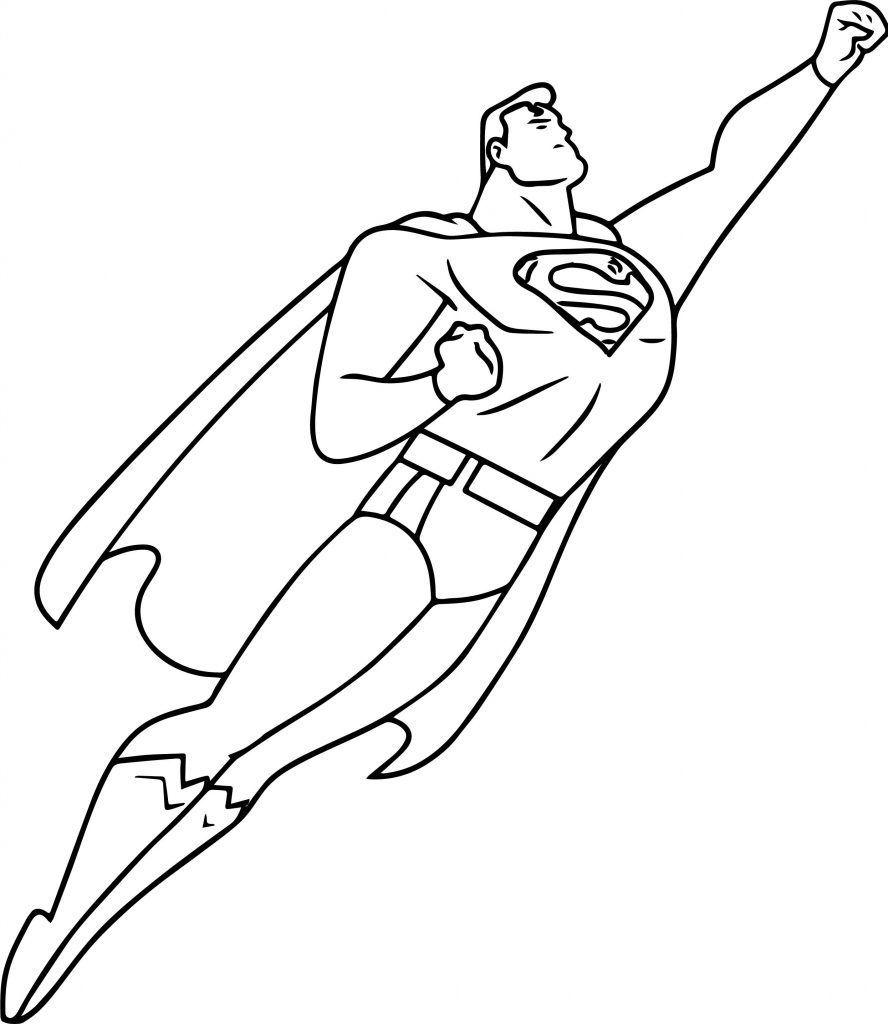 Superman Coloring Pages Batman Coloring Pages Superman Coloring