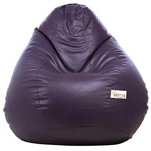 Miraculous Sattva Classic Bean Bag Filled With Beans Xxl Size Machost Co Dining Chair Design Ideas Machostcouk