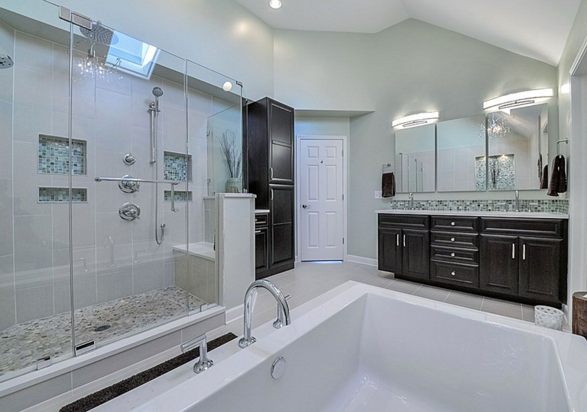 33 Custom Bathrooms To Inspire Your Own Bath Remodel Bathroom