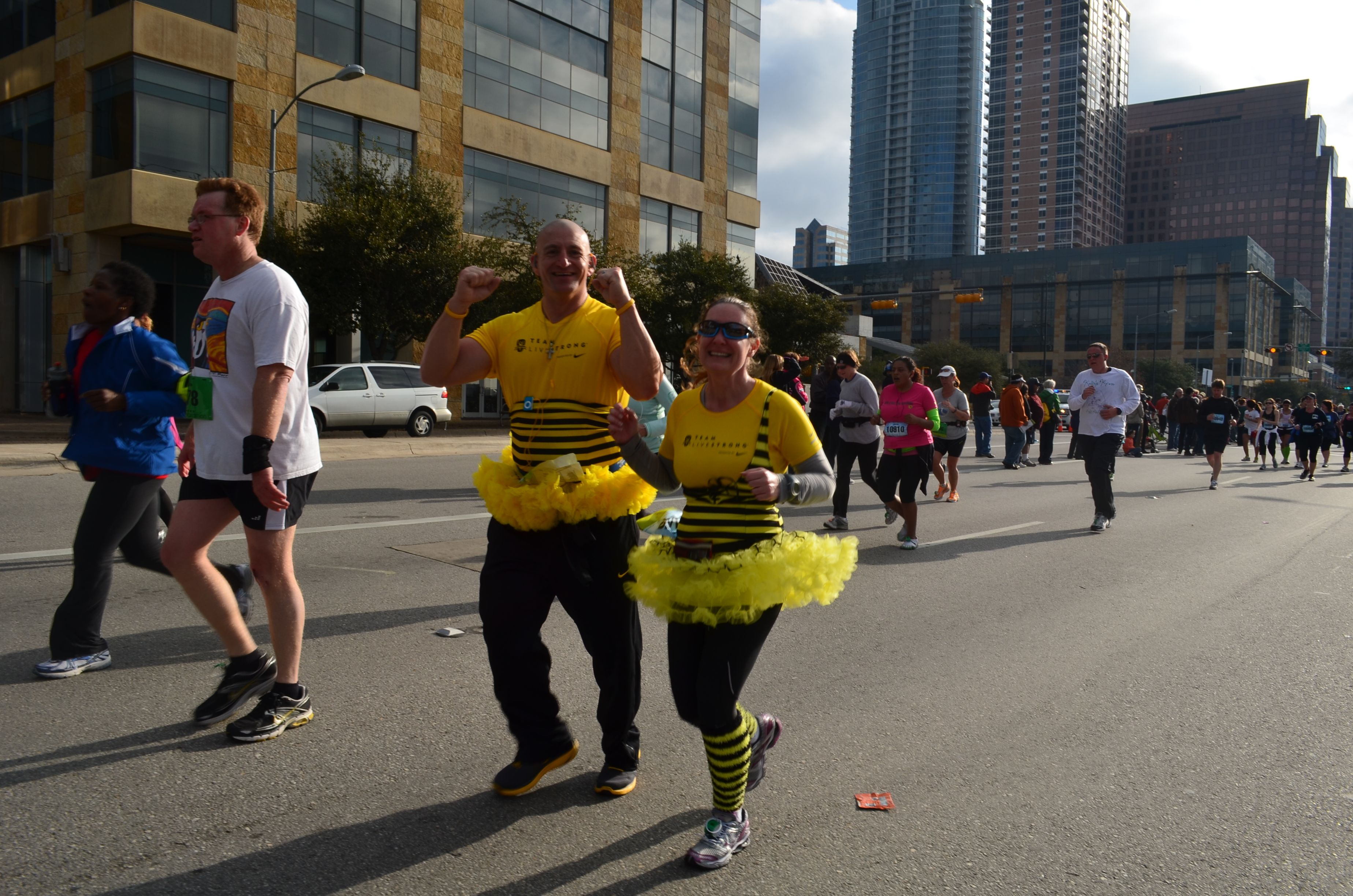 What you wouldn't you do for a fundraiser?! #LIVESTRONG #cancer