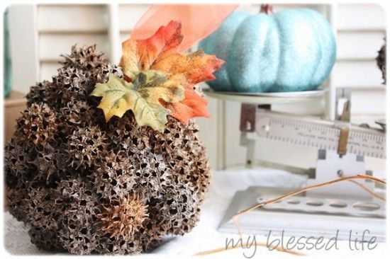 Diy Decorative Balls Sweet Gum Sweet Gum Tree Crafts Fall