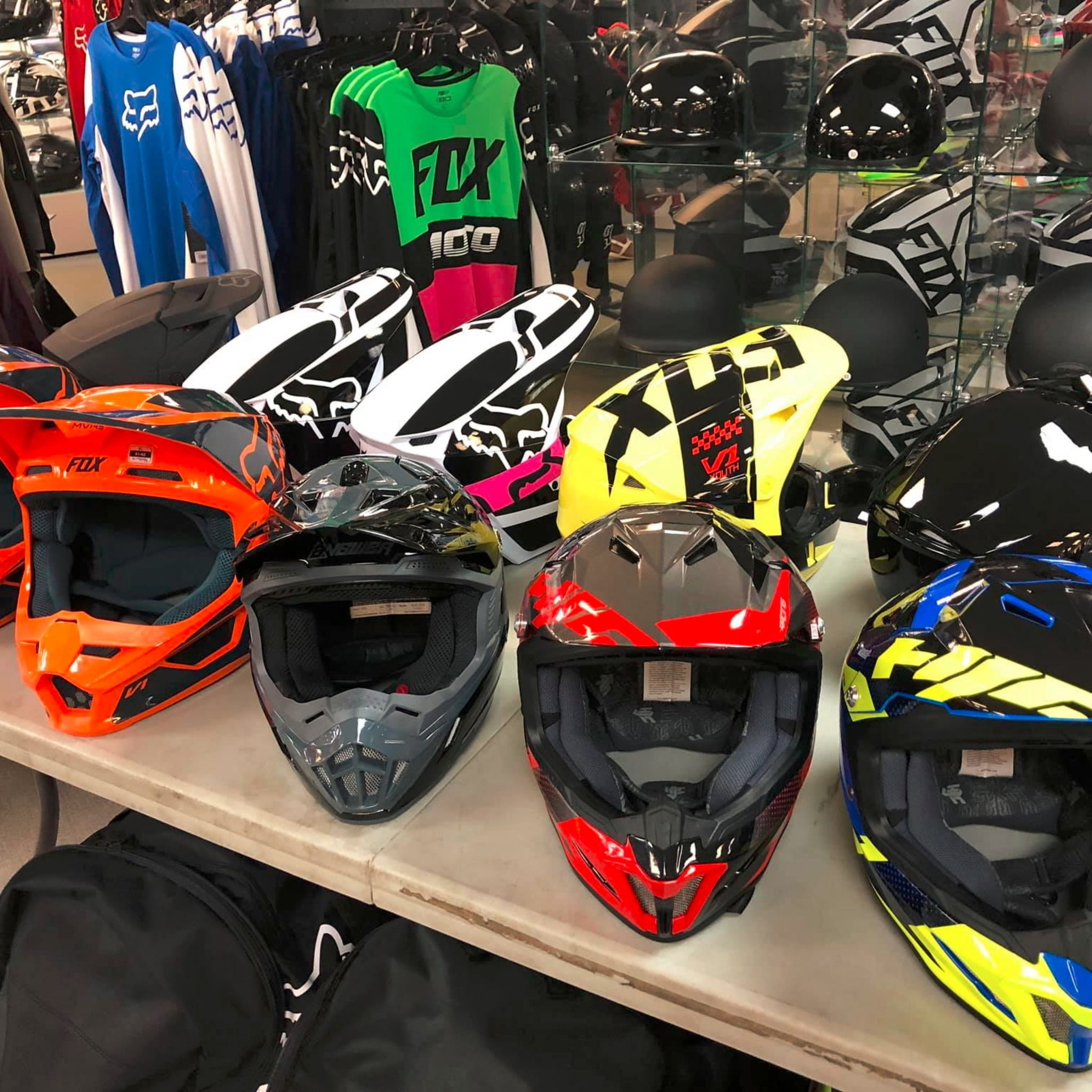 Helmets for your Dirtbike are on sale! 40 OFF New