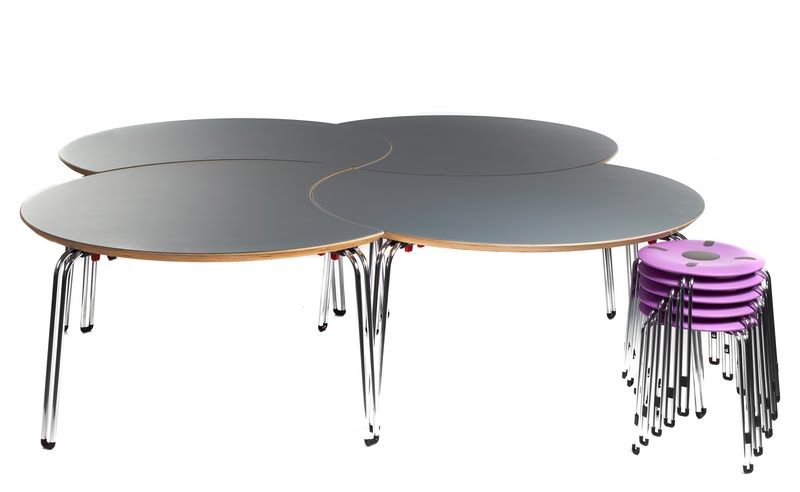 Genito Rund Tisch Tisch Rund Vierkantrohr Krippe Kita Hort Konferenztisch Runder Konferenztisch Tisch Wohnzimmertische