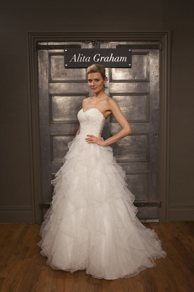 Alita Graham. Saw this dress on Say Yes to the Dress, S8E5, and fell ...