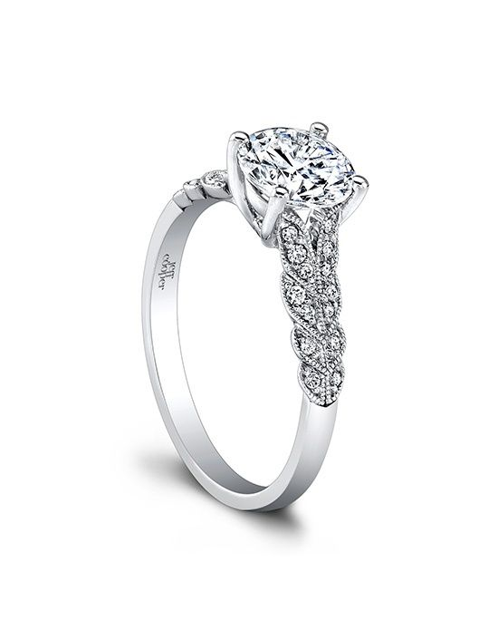 1606 by Jeff Cooper // More from Jeff Cooper: http://www.theknot.com/gallery/wedding-rings/Jeff Cooper
