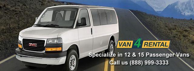 Van Rental 15 Passenger Van Vans Ways To Travel