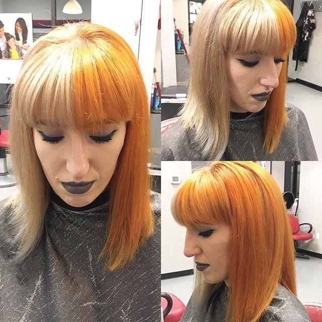 Instagram Analytics Hair Inspiration Split Dyed Hair Normal Hair