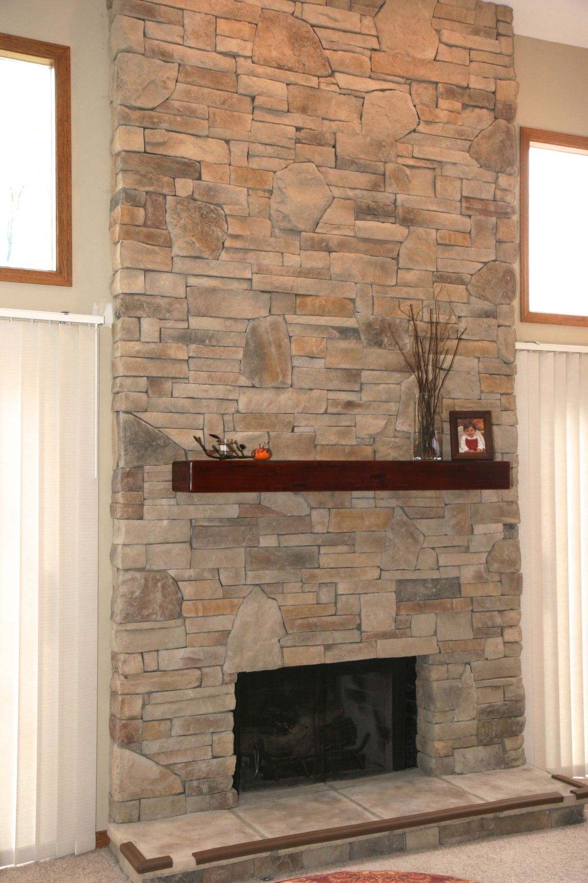 Stone for Fireplace - Fireplace Veneer Stone (With images ...
