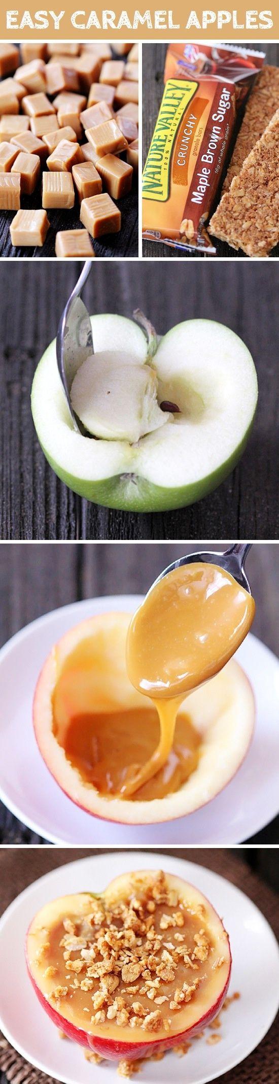 Easy carmel apples!