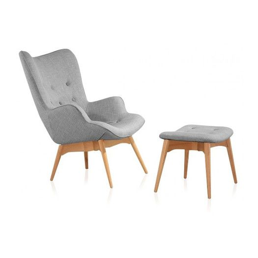 Modani Mid Century 2 Piece Lounge Chair Set | SOFAS, CHAIRS + ...