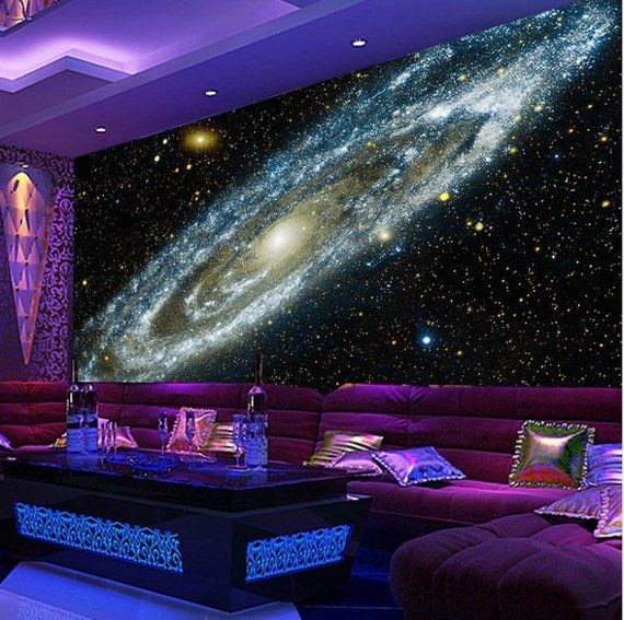 Galaxy Nebula Ceiling Galaxy Universe Wallpaper Starry