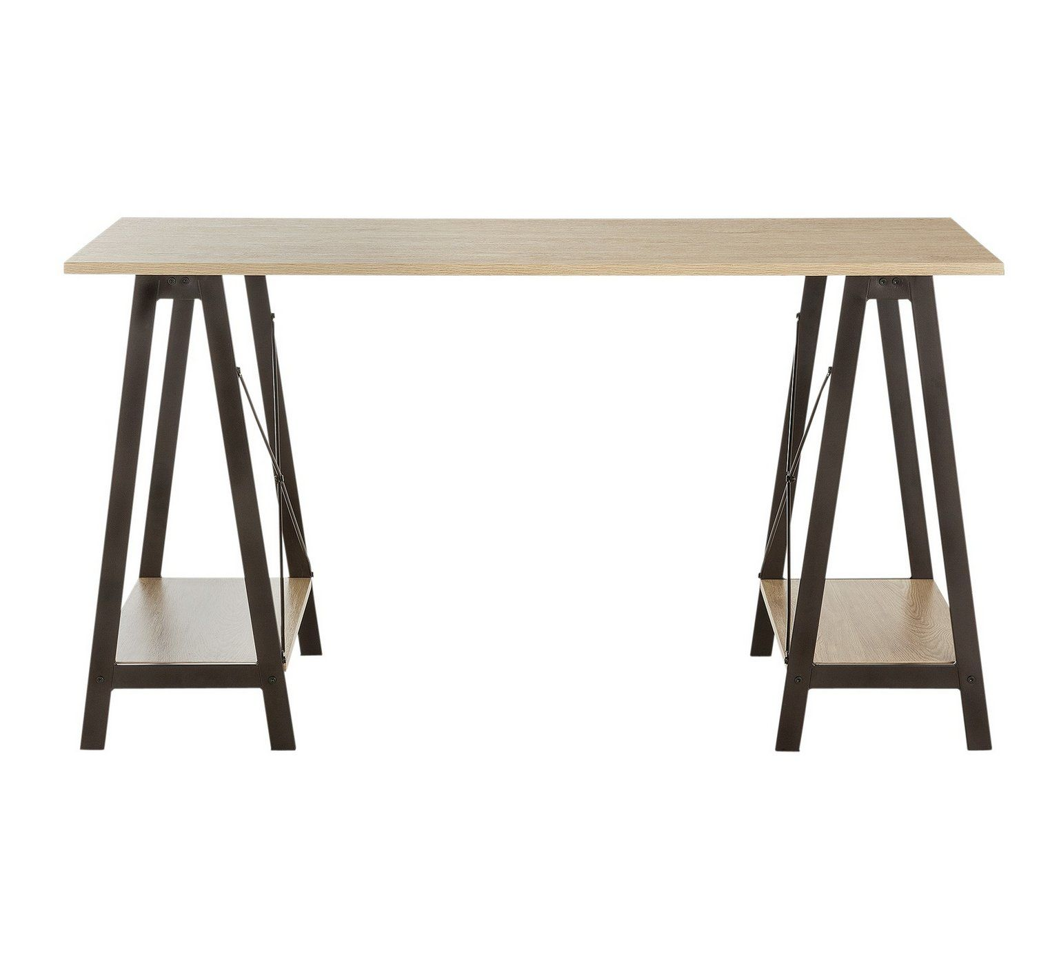 Buy HOME Large Trestle Table Desk at Argos.co.uk - Your Online Shop ...