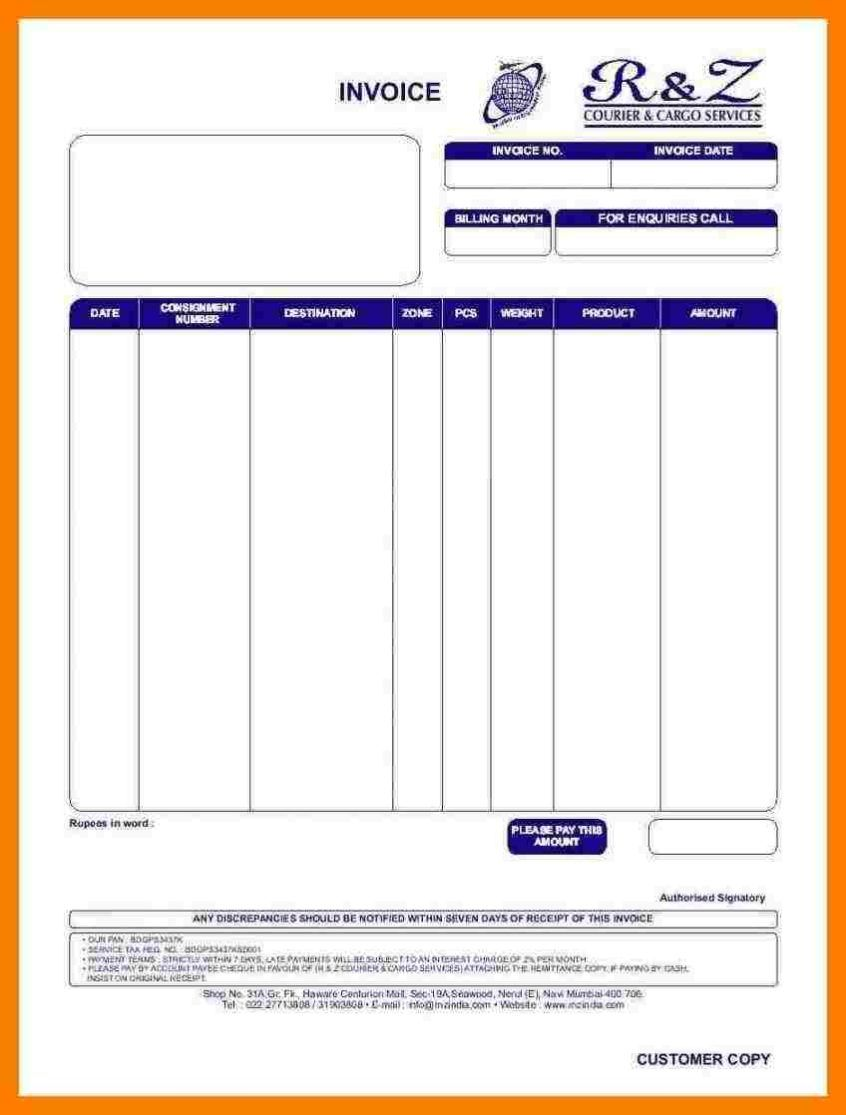 Bill Format For Travels Https Simpleinvoice17 Net Bill Format For Travels In 2021 Invoice Template Bills Travel