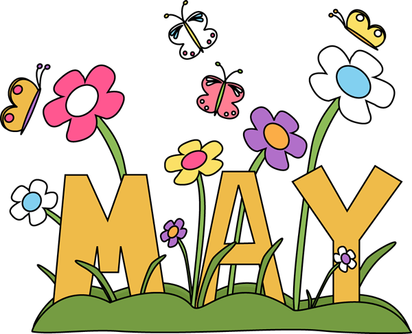 free month clip art month of may flowers clip art image the word rh pinterest com may day flower clipart may flowers clipart