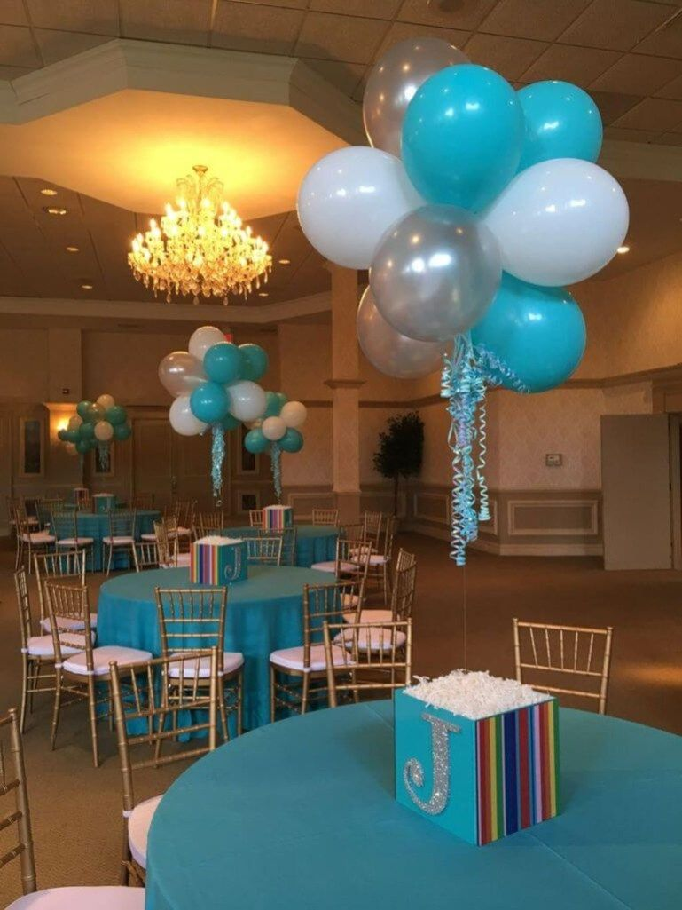 Wedding decoration ideas balloons   Simple and Beautiful Balloon Wedding Centerpieces Decoration