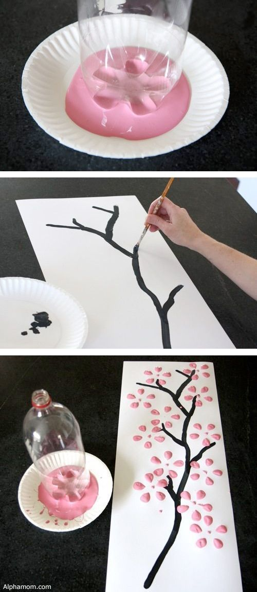 DIY wall art using an empty 2 liter bottle! — Easy DIY craft ideas for adults f…