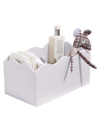 Boîte de rangement pour couches bébé ROSE+TAUPE+BLANC+VERT+BLEU ...