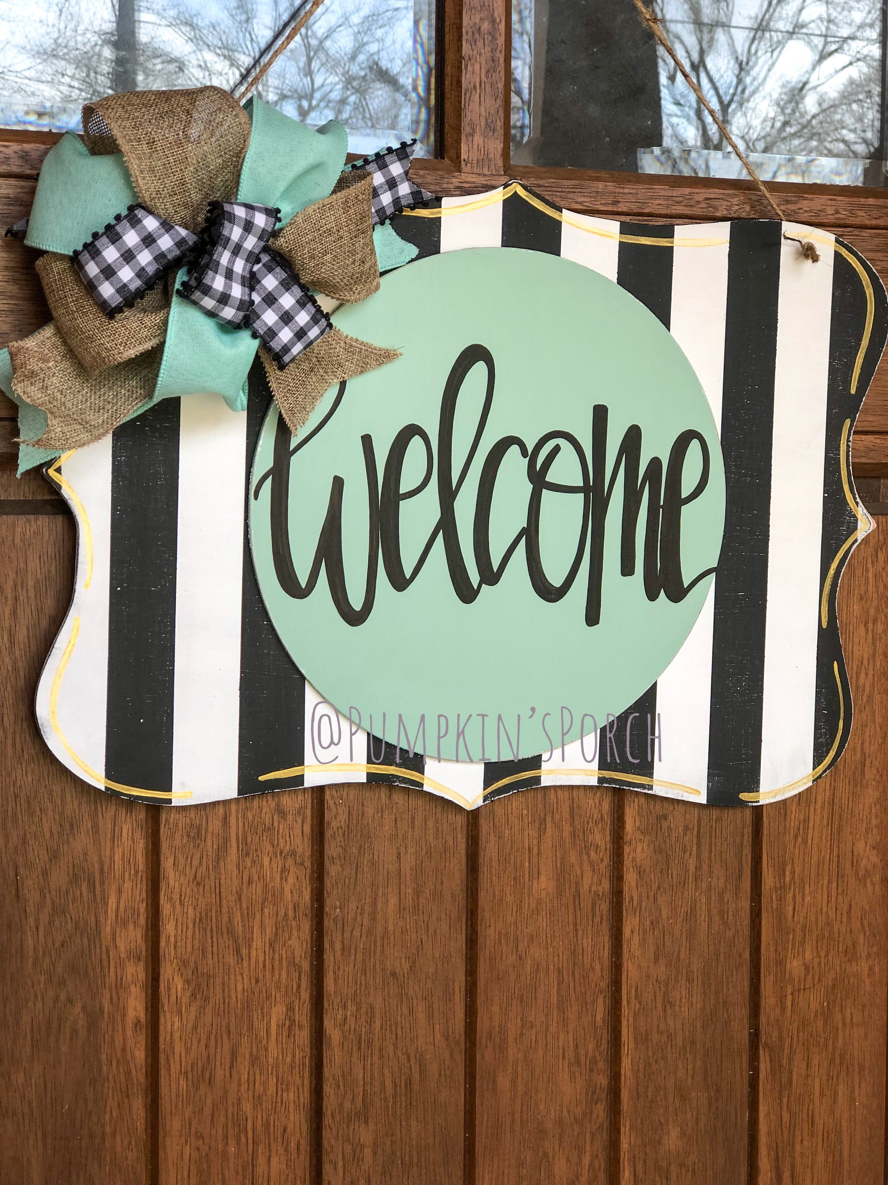 Door Charms Interchangeable Hanger with Attachments Summer Sign Interchangeable Door Hanger Door Wreath Rustic Fall Door Hanger