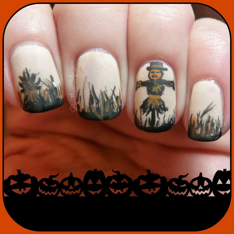 halloween-fall-autumn-nail-art-nailart-scarecrow-pumpkinhead ...