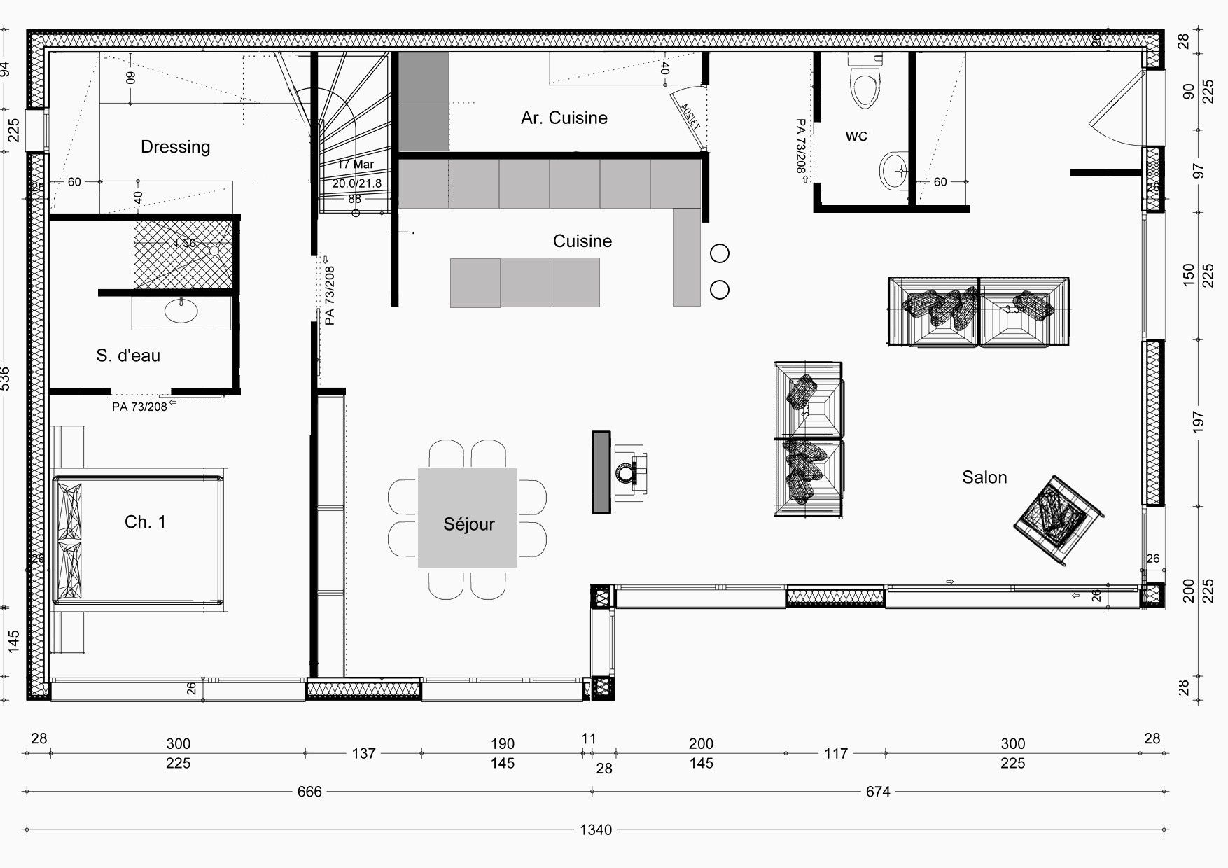 Realiser Un Plan De Maison 50m2 2 Chambres Design 50m2