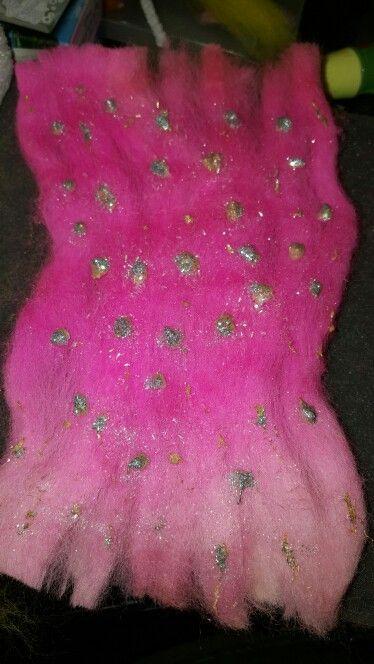 New Needle Felt fairy dress design From sweetpeafelting