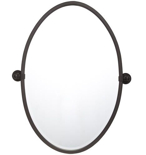 Landry Pivoting Mirror In Oil Rubbed Bronze 23 5 X 32