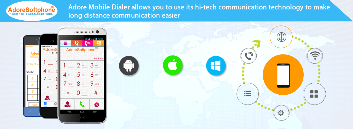 The Branded Mobile Dialers with customization for your VoIP Business