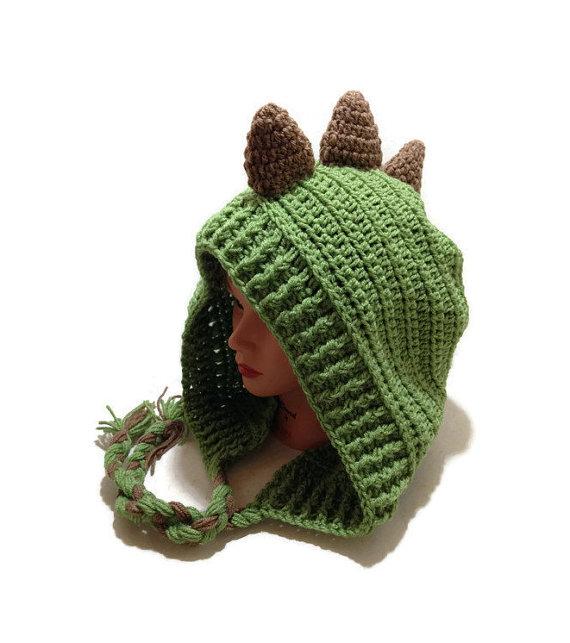 Green Dinosaur Hood, Festival Hoods, Dinosaur Cosplay, Dinosaur Hat, Kawaii Cosplay, Halloween Costu #crochetdinosaurpatterns