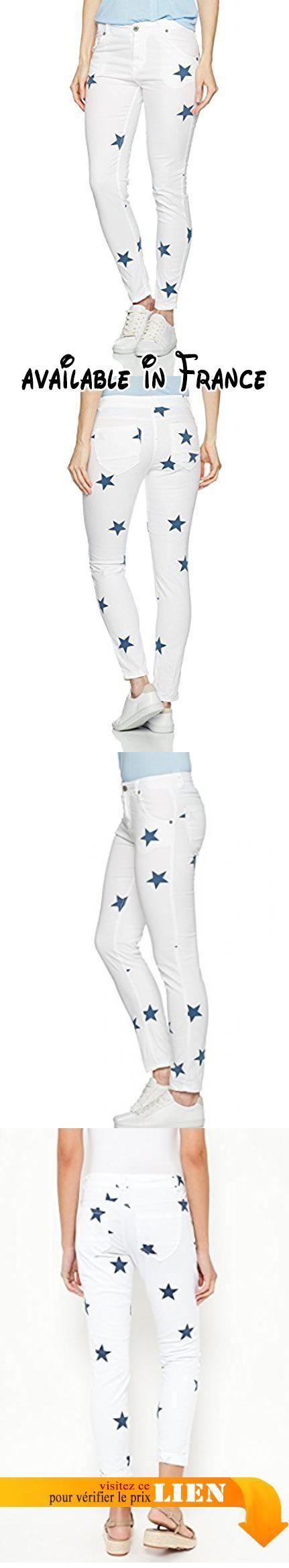 B01etam4jqTantra W38l30 Droit Jeans9614 Jeans Femme Blanc E9WH2DI