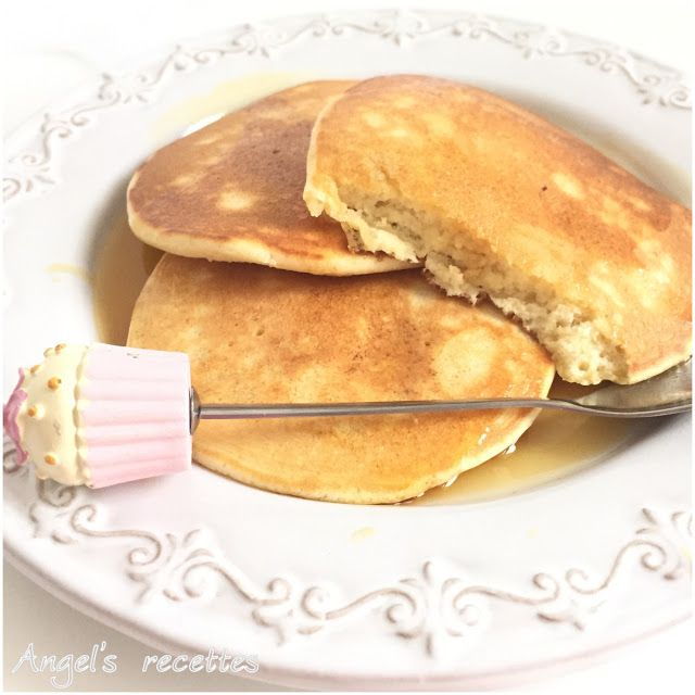Angel's Recettes: Les pancakes... au sirop d'érable (2ème version)
