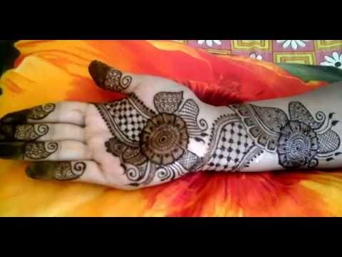 Pakistani mehndi designs for front hand video tutorial malik chand also malikchandskt on pinterest rh