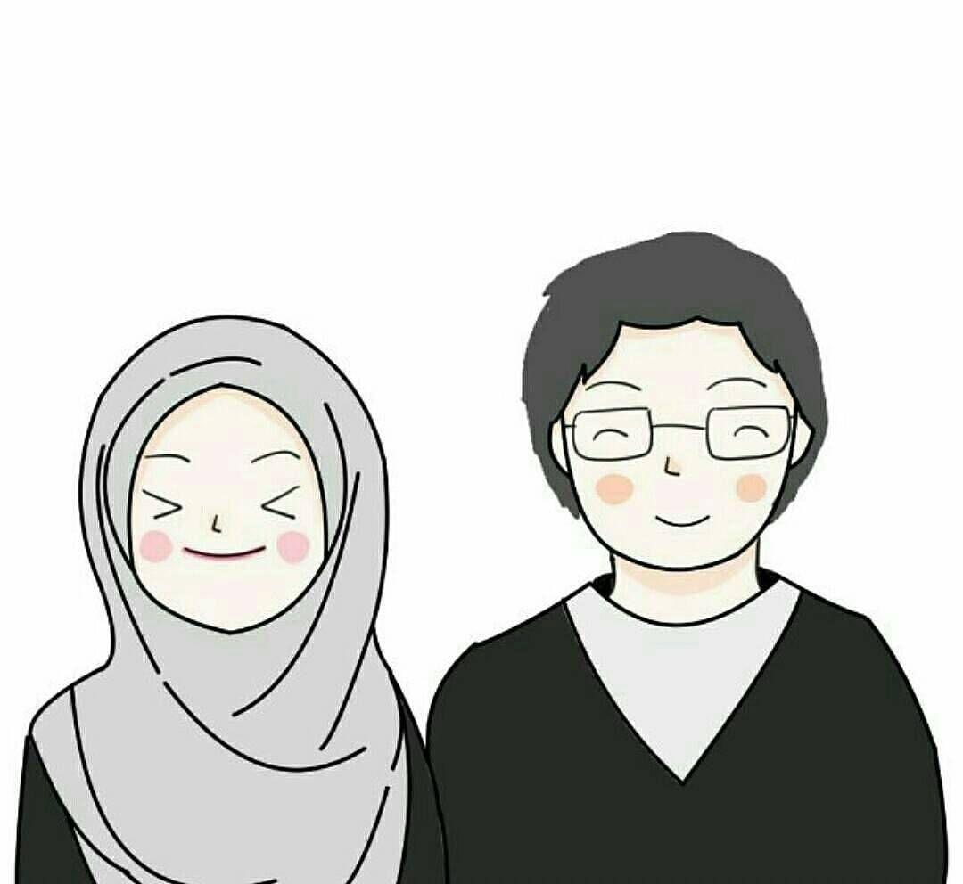 Kartun Muslim Cowok Kolek Gambar