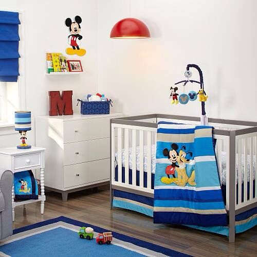Mickey Baby boy nursery Pinterest Nursery and Babies