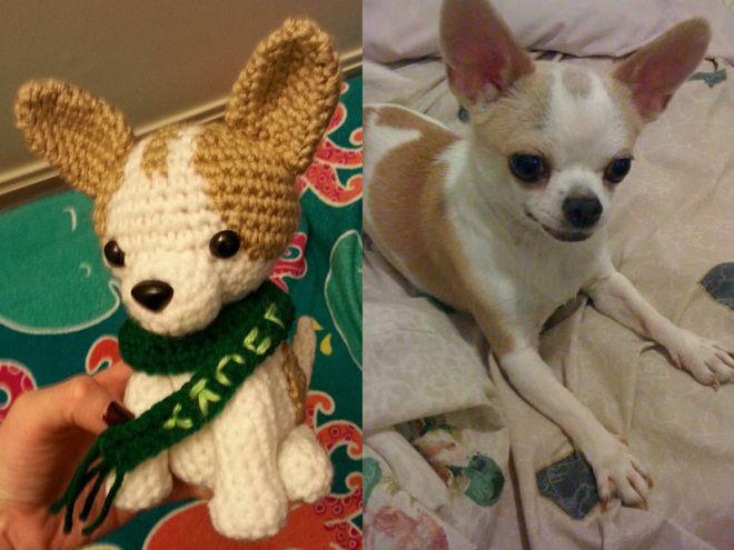 Chihuahua Dog Amigurumi Free Crochet Pattern By Littlemeecreations