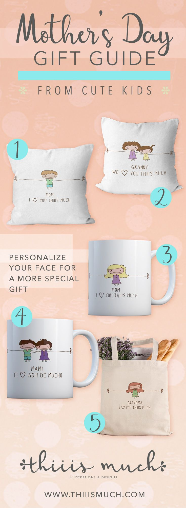 5 mothers day gift ideas from the cutest kids aunt