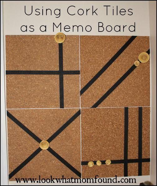 Get Ready, Get Set, Get #organized! WorkSpace Memo Board