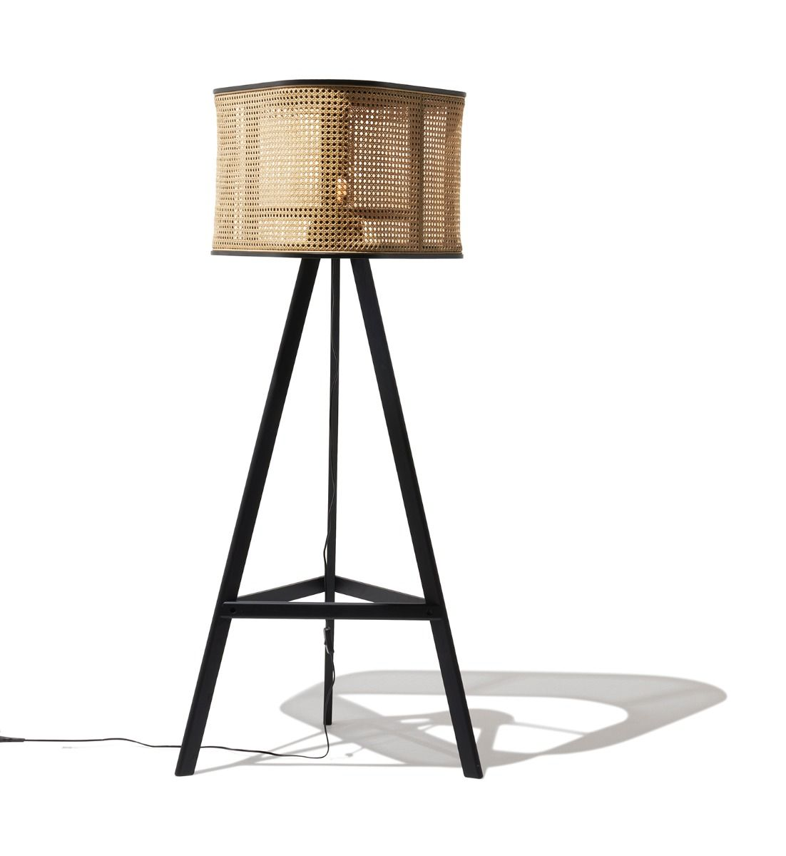 Cane Floor Lamp In 2020 Floor Lamp Lamp Black Floor Lamp