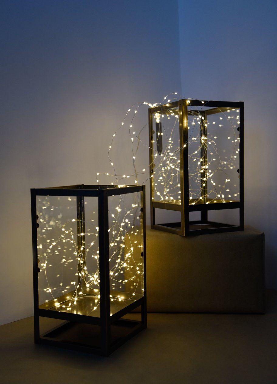 9 Geniale Lichterketten Weihnachtsdeko Ideen Von Pinterest Weihnachtsdeko Lichterketten Weihnachtslichter Lichterkette