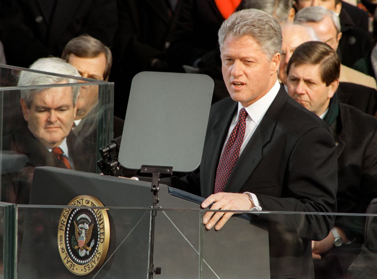Obama takes oath of office jimmy carter - When did clinton take office ...