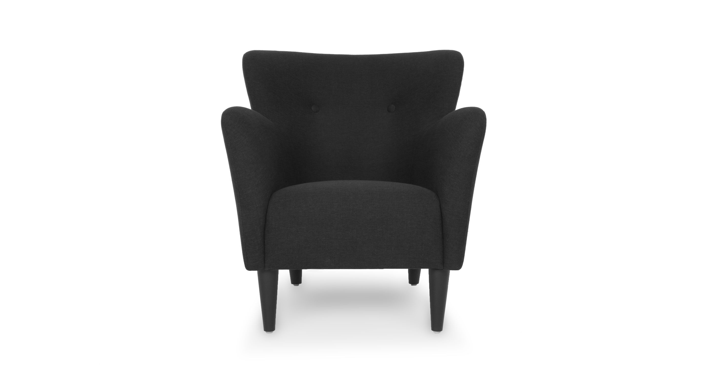 Happy Charcoal Gray Armchair   Lounge Chairs   Article | Modern,  Mid Century And