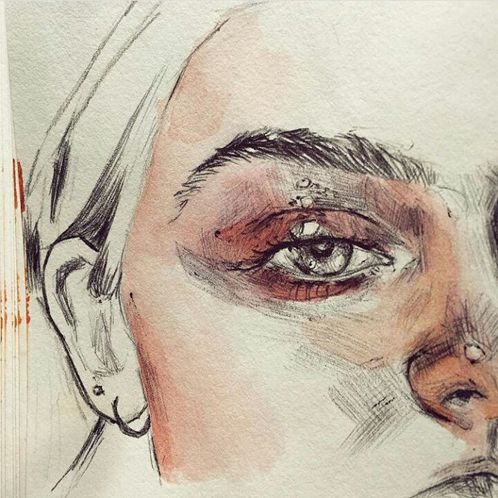 Pinterest// @NoortjeDR | Art | Art, Drawings, Pencil portrait