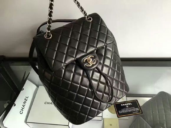 Chanel Urban Spirit Backpack Original lambskin leather A91122  Whatsapp +8615817091613 for more pics and other payment options. fe45b6c51b