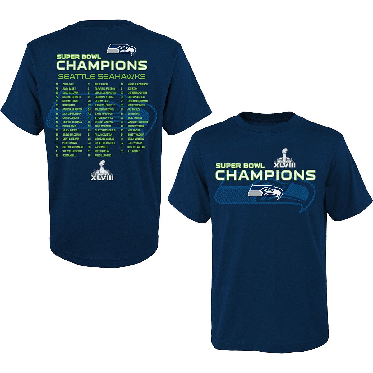 NFL Team Youth Apparel Seattle Seahawks 2013 Super Bowl