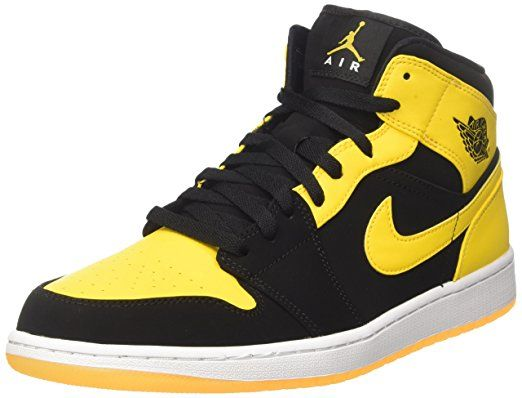 2d951a391b6826 Amazon.com  Nike Men s Air Jordan 1 Mid Basketball Shoe  Nike  Shoes   jordan  basketball  shoe  sports  style  fashion  men  boys  nike  running   clothing ...
