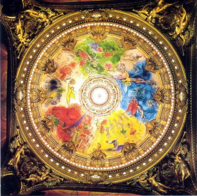 Marc Chagall Ceiling For The Paris Opera 1963 1964