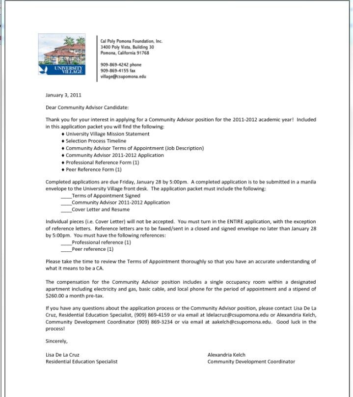 Letter Of Recommendation For Paraprofessional Special Education